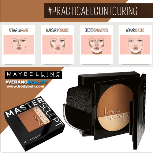 maquillaje contouring productos